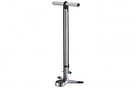 Merida Big Gauge Alloy High Polish Floor Pump